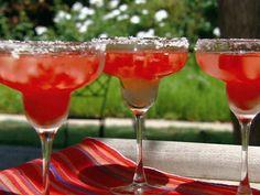 Watermelon Margaritas Recipe : Michael Chiarello : Food Network - FoodNetwork.com
