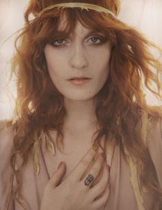 Florence Welch: Siren Song - Vogue UK by Mario Testino, January 2012Cm