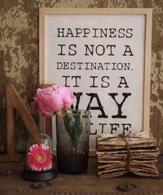 Bilderrahmen Happiness
