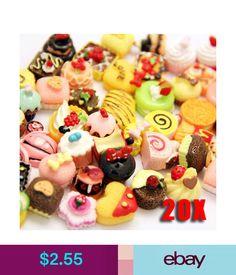Set cabochons de resina kawaii cake Navidad decorados móviles 10X