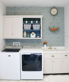 """Explore our site for more details on """"laundry room storage diy cabinets"""". It is actually a great spot to find out more. Small Laundry Rooms, Laundry Room Organization, Laundry Room Design, Laundry Storage, Organizing, Laundry Bags, Laundry Decor, Freundlich, Wall Treatments"""