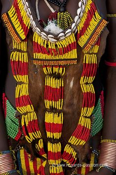 Africa | Hamer details. Omo Valley, Ethiopia. | ©Benoit Feron