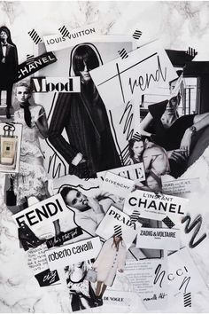 New aesthetic wallpaper collage grey ideas Collage Poster, Mode Collage, Poster S, Aesthetic Collage, White Aesthetic, Collage Background, Fashion Background, Photo Wall Collage, Chanel Logo
