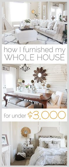 Home Design Ideas: Home Decorating Ideas For Cheap Home Decorating Ideas For Cheap Shopping secrets on how to furnish your house for cheap! How I Furnished My Hous. Home Design, Design Ideas, Design Trends, Cheap Home Decor, Diy Home Decor, Thrifty Decor, Home Interior, Interior Design, Interior Paint