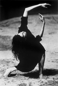 Don't move the way fear makes you move. Move the way love makes you move. Move the way joy makes you move. ~Osho | Photo of Pina Bausch