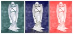 Drieluik drie engelen