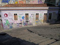 Pedra do Sal, berço do Samba! Centro, Rio de Janeiro, Brasil.