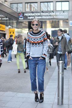 Holli Rogers, Paris Fashion Week - Trendy Crew