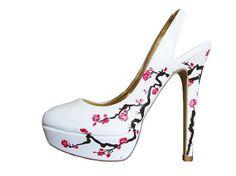 Wedding Shoes Cherry Blossom! <3