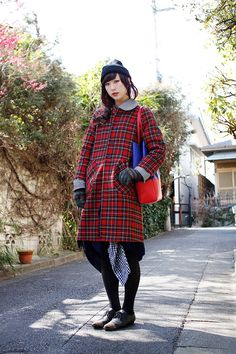 ストリートスナップ | 石原翠 | ROSSO 美容師 | 下北沢 (東京) - drop tokyo. #street #style #japan