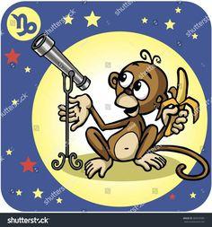 Javan monkey animal