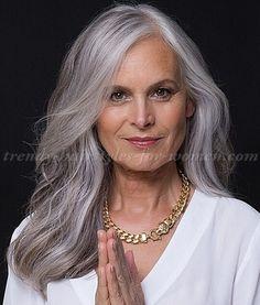 Gray Hairstyles Simple 60 Gorgeous Gray Hair Styles  Pinterest  Medium Hairstyle Gray