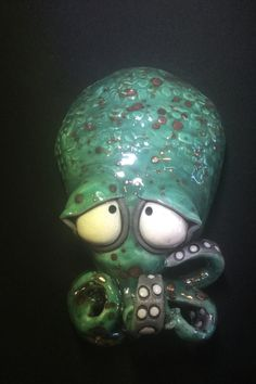 Baby Octopus, Cute Monsters, Clay Crafts, Clay, Ceramics, Clay Projects