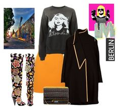 """Tales of the city"" by juliabachmann ❤ liked on Polyvore featuring MSGM, MadeWorn, Tom Ford and Prada"