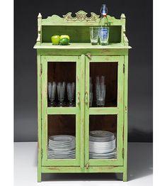Muebles Portobellostreet.es: Alacena Vintage Verde Alicia - Alacenas Vintage - Muebles de Estilo Vintage