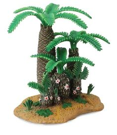 Monathesia and Cycads (Prehistoric plants made by Collecta), available from Everything Dinosaur from £4.79 plus shipping.