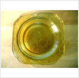 Just updated YELLOW MADRID-AMBER by FEDERAL GLASS CO DEPRESSION GLASS $9.99