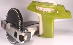 Vintage DYMO model! Dymo Label, Printer, Crafty, Model, Vintage, Collection, Vintage Comics, Models