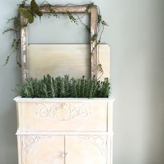 A personal favorite from my Etsy shop https://www.etsy.com/listing/281842378/french-country-cabinet-free-shipping
