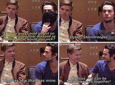 Of course Thomas would say that. He loves Star Wars and I'm crying!
