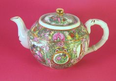 Teapot Japanese Porcelain Made for Joseph by rickrackcollection
