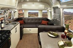 The Airstream Interstate EXT Grand Tour elevates your travel experience when you're setting out to unwind. Experience supreme Airstream comfort for two. Airstream Sport, Airstream Decor, Airstream Basecamp, Airstream Bambi, Airstream Travel Trailers, Airstream Camping, Airstream Remodel, Airstream Renovation, Airstream Interior