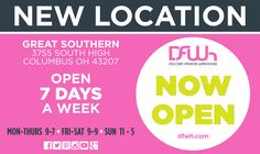 NOW OPEN! Our new location at Great Southern Shopping Center. #DFWhGreatSouthern