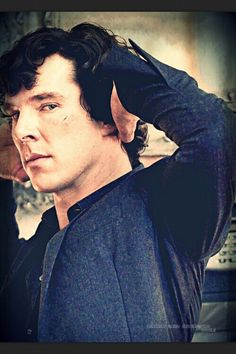 Sherlock ...that is quite a look