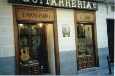 Tienda de F. Manzanero, en Madrid.