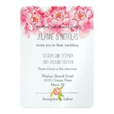 ピンクのシャクヤクの花の結婚式