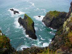 Cliff View - Clare Island, Ireland
