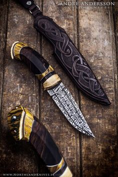 André Andersson hand made knifes masters
