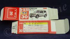 TOMICA 030F MITSUBISHI PAJERO MK3 | 1/63 | ORIGINAL BOX ONLY | ST9 JAPAN | FIRST