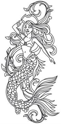 Sea Treasure - Pirate Mermaid_image