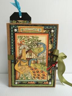 Graphic 45 Artisan Style Journal Cover                                                                                                                                                                                 More