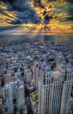 Chicago U.S.A.  wow so awesome! HDR