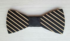 wood bowtie#classical color and match#for him