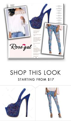 """""""Rosegal 3"""" by nejrasehicc ❤ liked on Polyvore featuring Haute Hippie and Whiteley"""