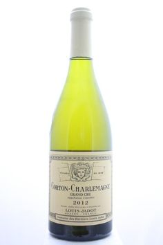Louis Jadot (Domaine Des Héritiers Louis Jadot) Corton-Charlemagne 2012. France, Burgundy, Aloxe Corton, Grand Cru. 4 Bottles á 0,75l. Estimate (11/2016): 350 USD (2.131 CZK) / Bottle).