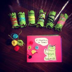 El monstruo de los colores adaptación para el colegio Art For Kids, Crafts For Kids, Arts And Crafts, Preschool Art, Toddler Preschool, Spanish Activities, Activities For Kids, Spanish Colors, Conscious Discipline