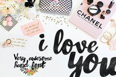 Pretty fonts | Fuentes bonitas - Asmae handwritting