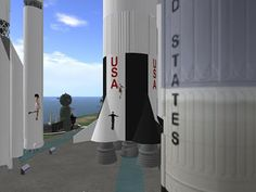 Mike Lorry gave the Metaverse Tour group a Tour of the newly opened International Spaceflight Museum on Kitely. Mike acted as Museum Docent, explaining the exhibits, in terms of their historic, current, and future importance. Training Classes, Happenings, Virtual World, 3 D, Hobbies, Museum, Activities, Shit Happens, Education