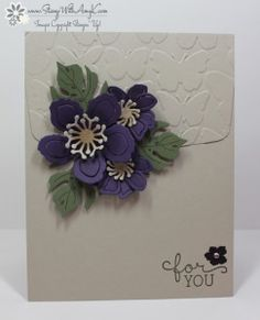 Botanical Blooms 1 - Stamp With Amy K