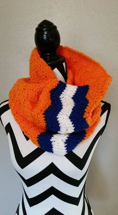Find this cute Adult Bronco scarf in the Hollipop Clothing! etsy shop!