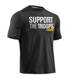 633112e48 Under Armour Support The Troops Graphic Tee **Hero Provisions: off duty  apparel, gear gifts for Police, Fire, EMS, Military Private Security**