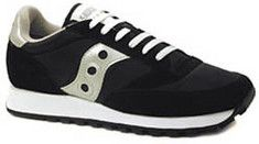 Saucony Originals.Funky retro sneaker offered in a variety of colors to match any outfit.Casual style can be paired with anything from jeans to gym wear.  A versatile sneaker great for any activity.Genuine suede uppers, solid rubber outsole with traction for extra grip.