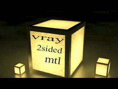 Vray 2sided material in 3DS max(2014) - YouTube