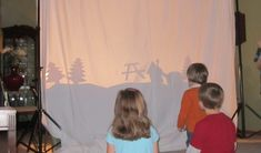 Shadow Puppets for Family Fun.  I can't wait to try this with my kids!