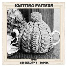 Knitting Pattern Cable Tea Cosy : 1000+ images about Tea cozies on Pinterest Tea cozy, Tea cosies and Tea cos...