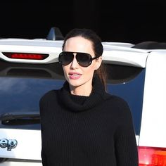 Angelina Jolie Took a Page from Selena Gomez's Style Playbook